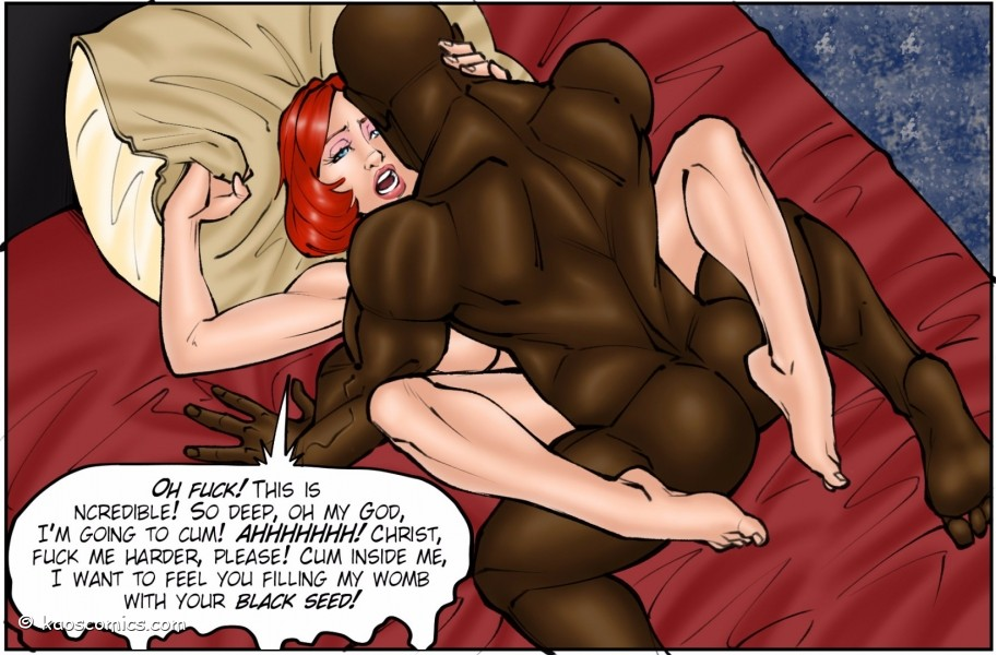 Interracial Comics Cuckold Cartoons BBC Comix at Taboo