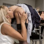 Nesty, Cherry Kiss, Nikita Bellucci – Nikita, the French maid at your service