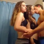 Amateur Threesome on Webcam