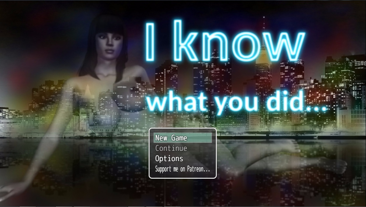 Staveday - I Know What You Did - Adult New Game