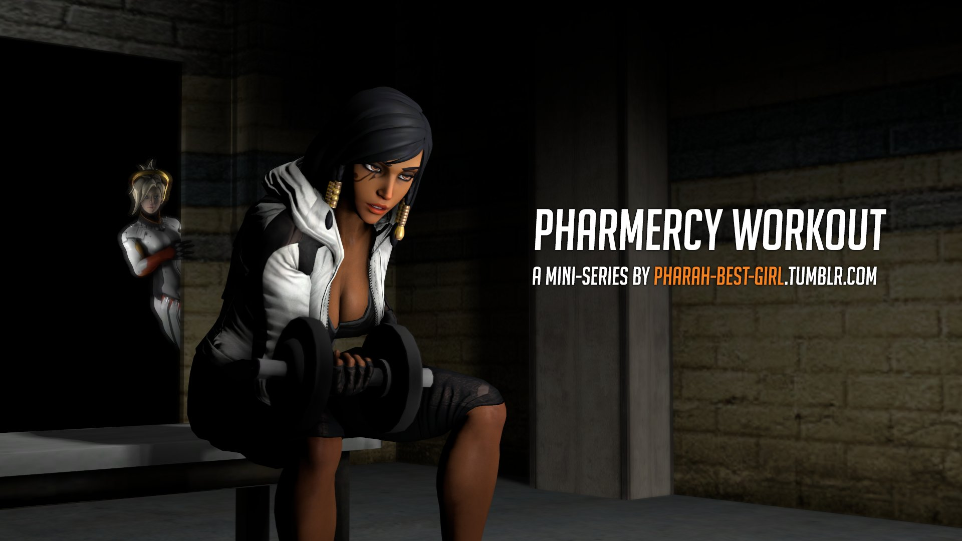 Pharah-best-girl – Pharmercy Workout - 23 Pages