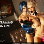 Miki3DX – Bimbo Training Session One