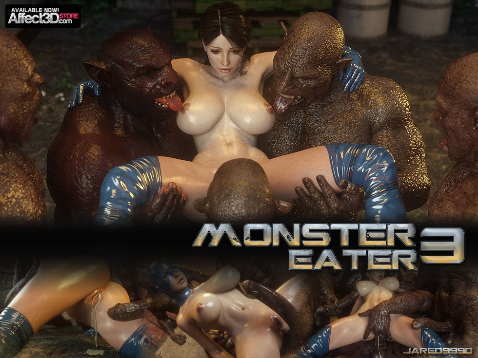 Jared999d – Monster Eater Part 3 [ Mask & Unmask Version]