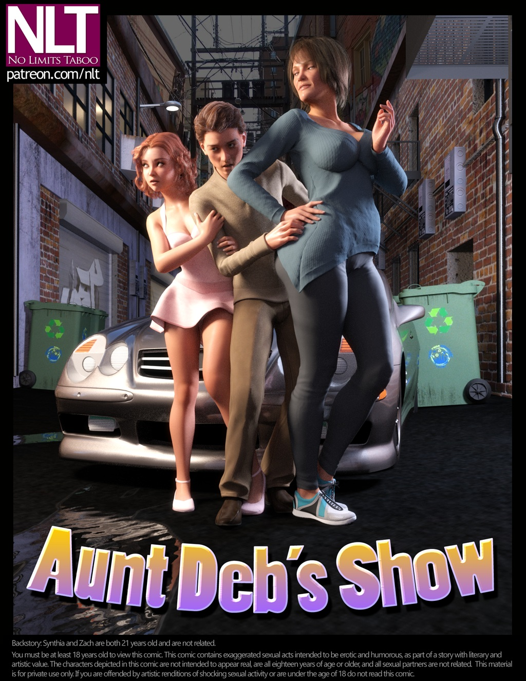 Aunt Deb's Show – Updated – 49 Pages (Complete)