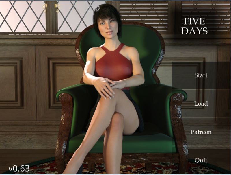 Five Days – Updated – Version 0.63