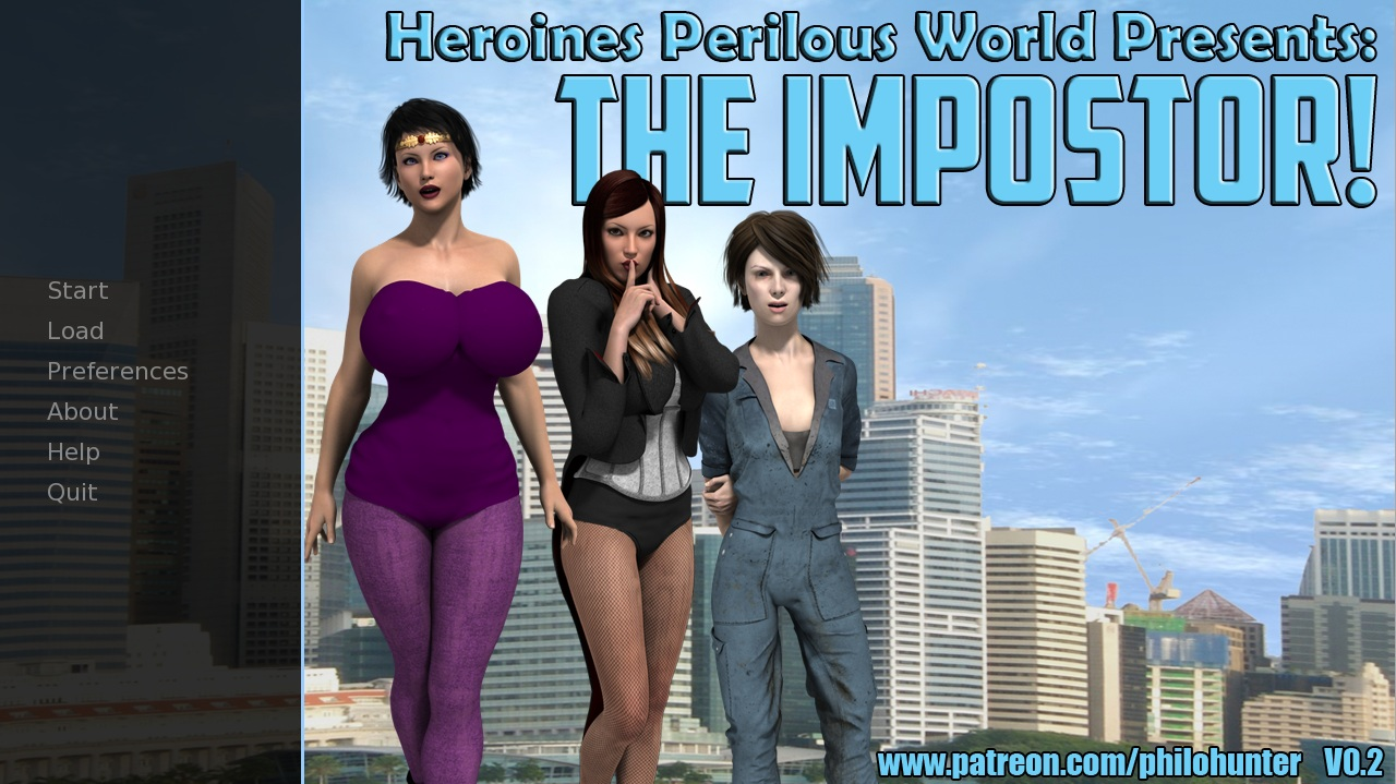 Heroines Perilous World – The Imposter – Version 0.2 by Philo Hunter