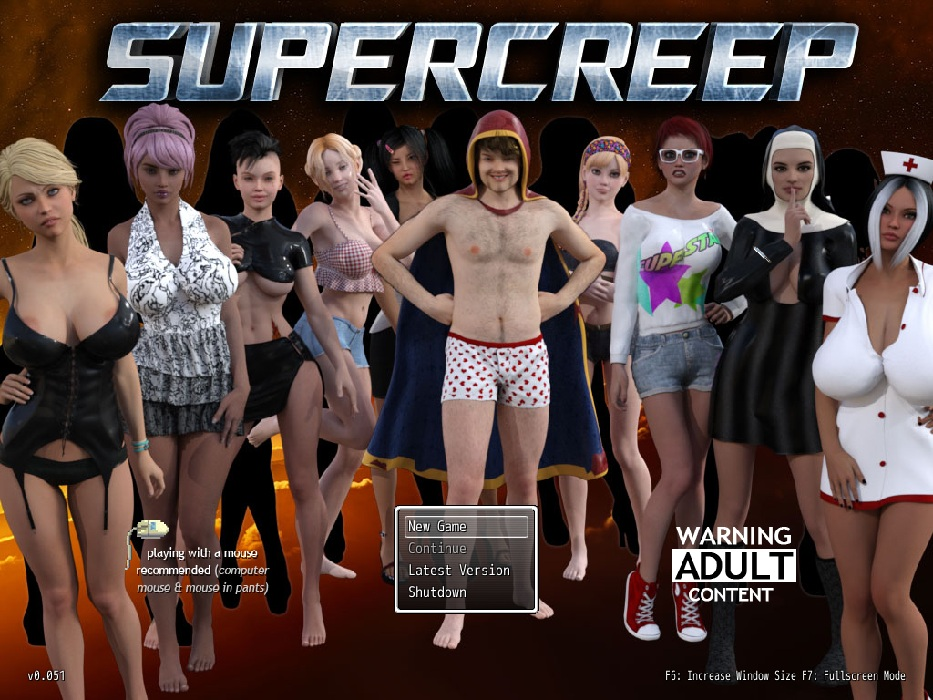 Supercreep - Updated - Version 0.051