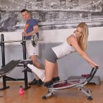 Nikky Dream – Missing Panties – A Horny Blonde's Juicy Gym Blowjob