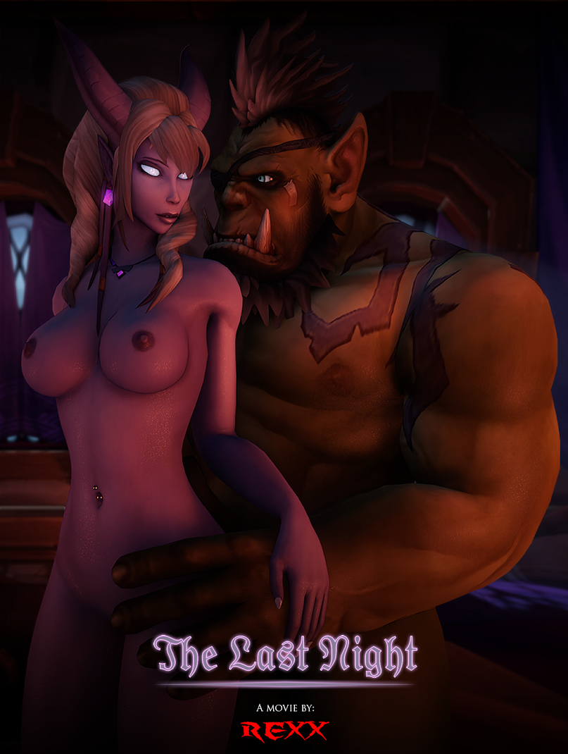 Rexx – The Last Night - Hot Elf and Orc XXX Action