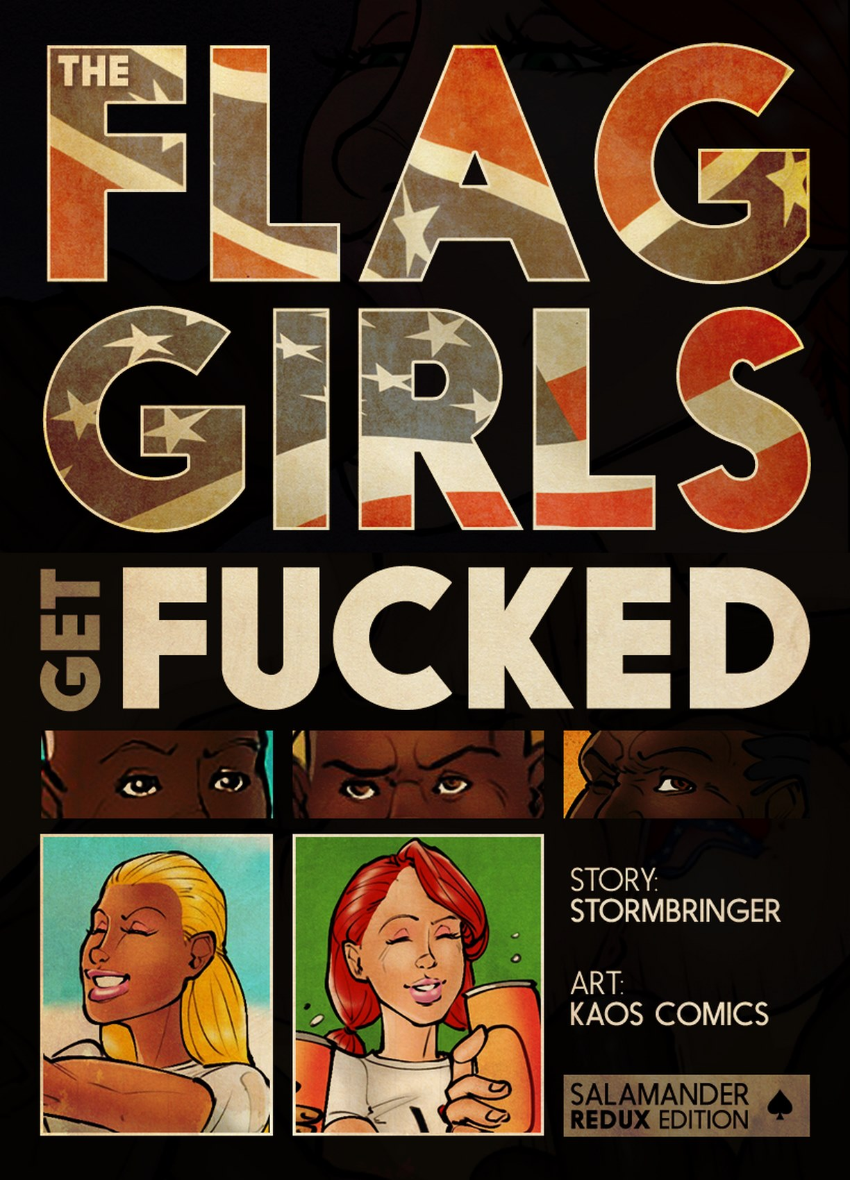 Flag Girls Get Fucked (Proper Pages) Complete!