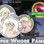 Super whore family - Flash Adult Game