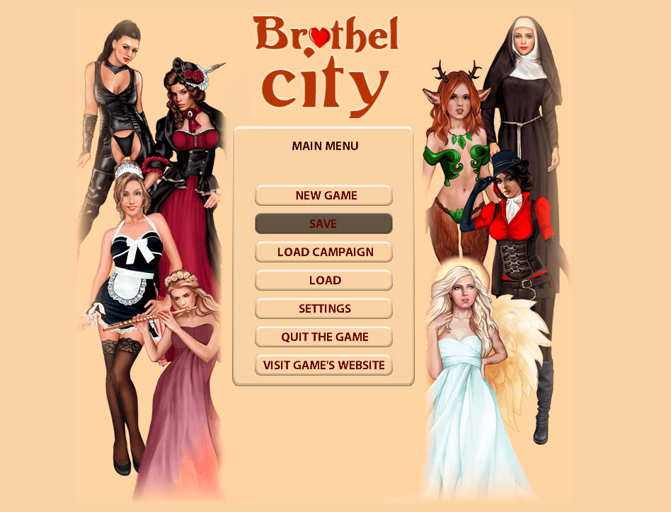 Brothel City - Version 1.6 + Cheat