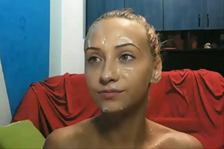 Amateur Girlfriend Loves Cum on her face