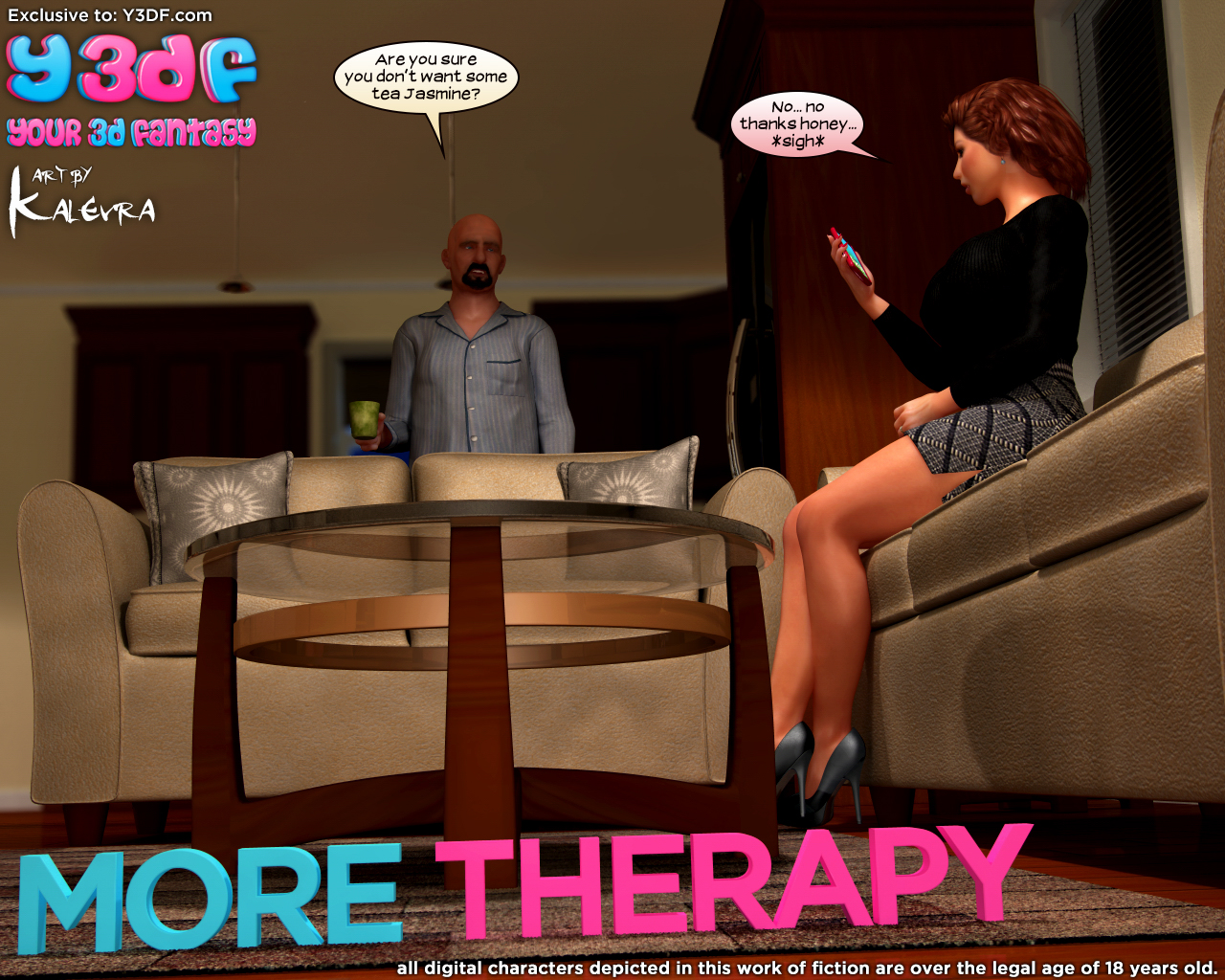 Y3DF – More Therapy – 64 Pages – Complete!