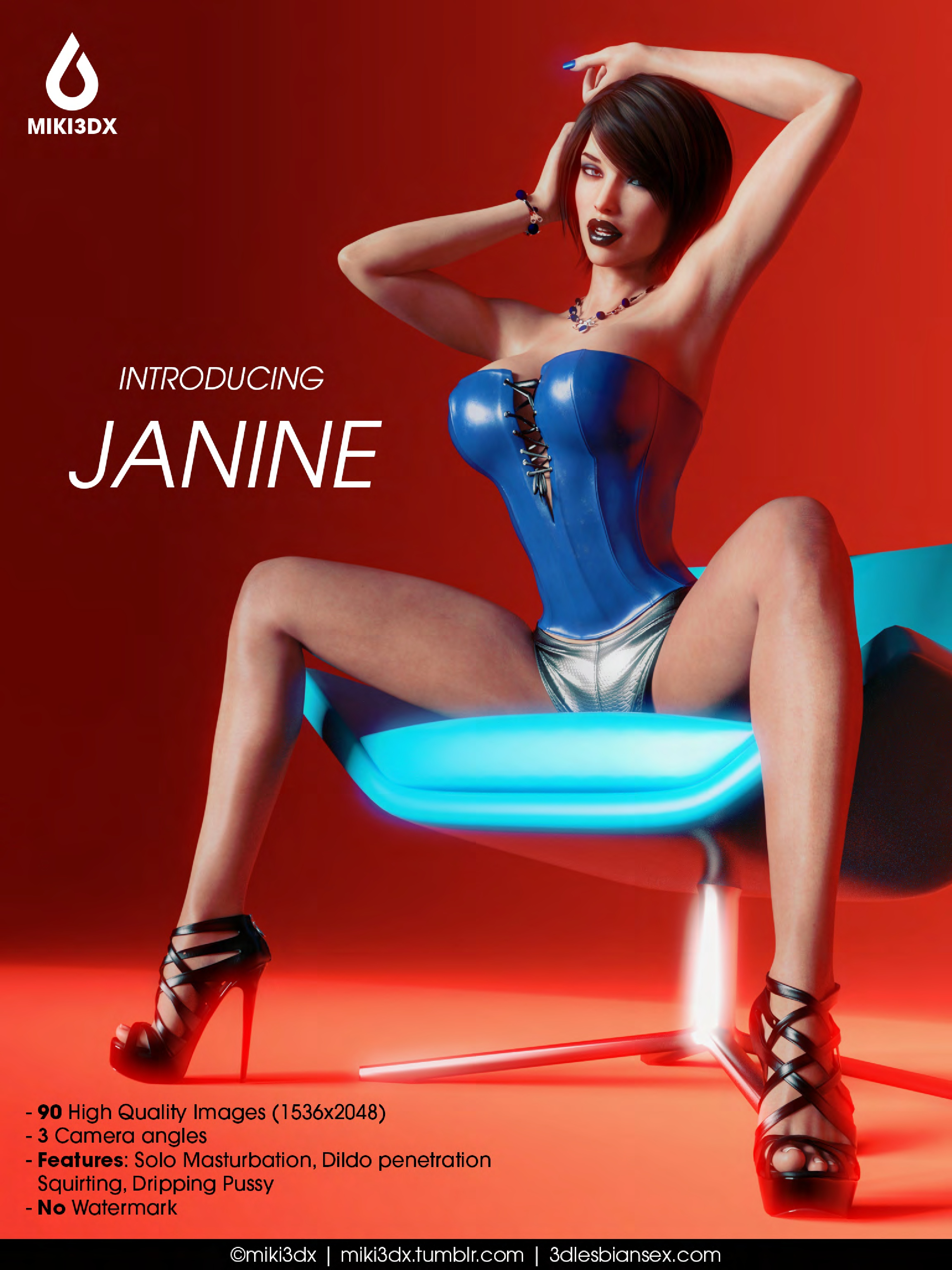 Introducing Janine - 92 Pages
