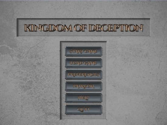Kingdom of Deception – Version 0.11.4 (Pc) + CG Images