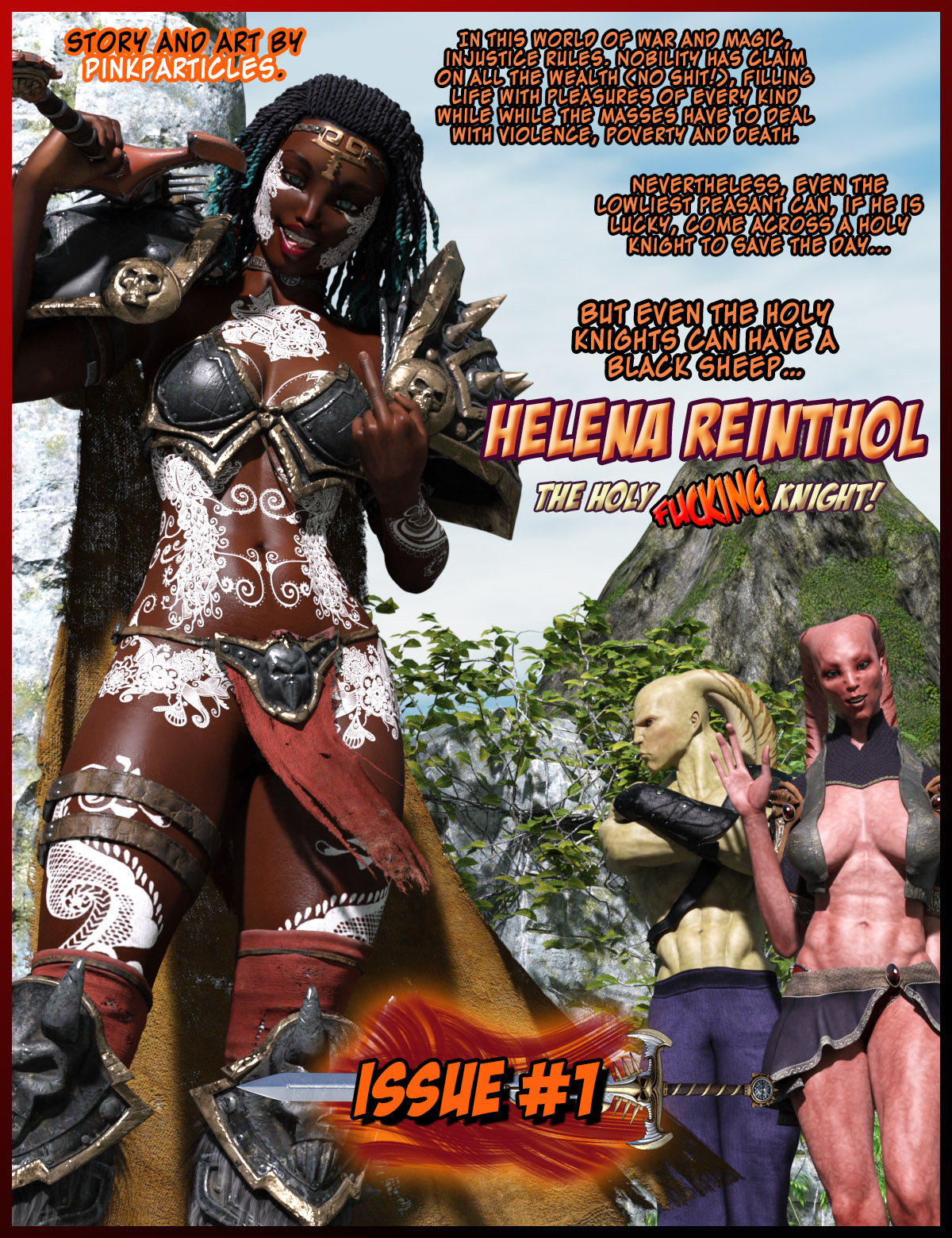 Helena Reinthol's Adventures (33 Pages)