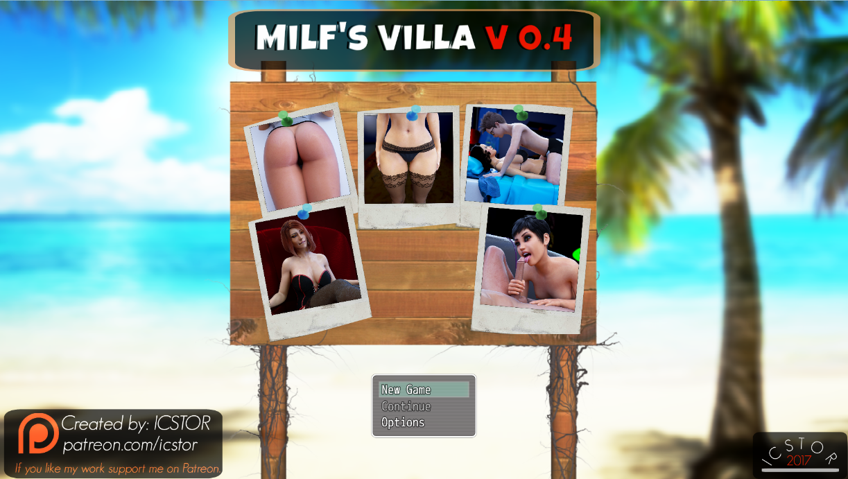 Milf's Villa – Episode 1-4 – Version 0.4c