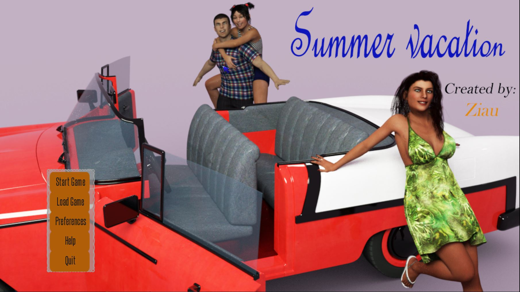 Ziau – Summer Vacation – Version 0.01