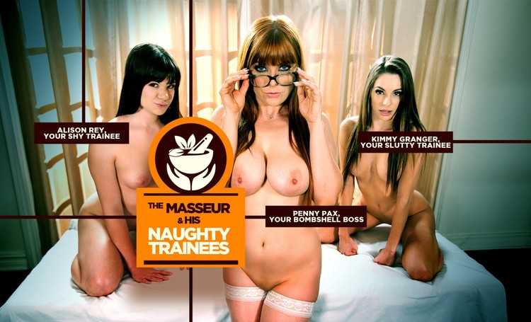 The Masseur and His Naughty Trainees