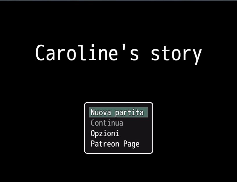 Caroline's Story - Demo Version