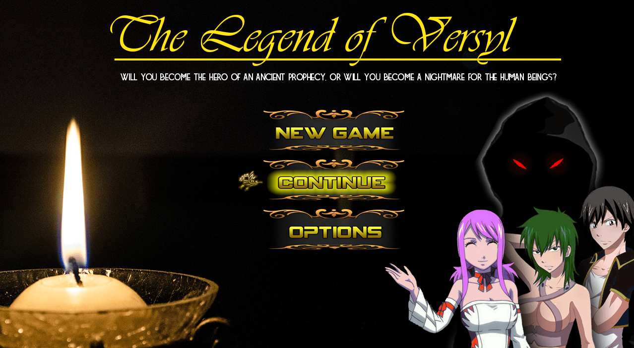 The Legend of Versyl - Updated - Version 1.1.0b