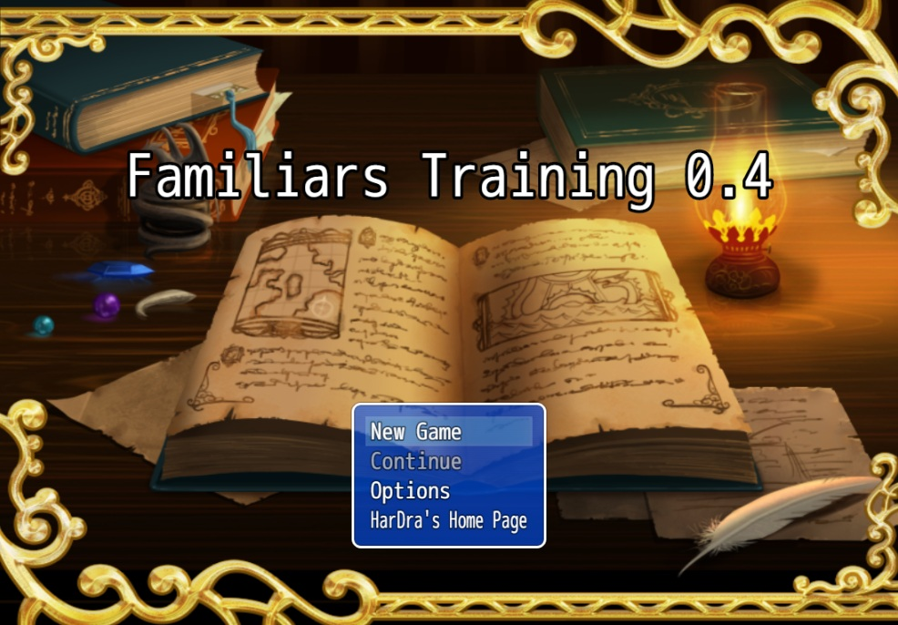 HarDra – Familiars Training – Version 0.4