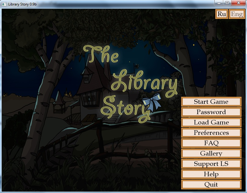 The Library story – Updated – Version 0.9b