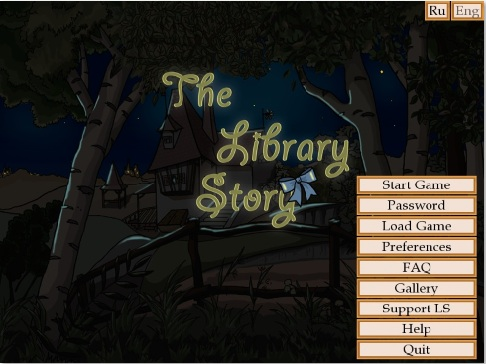 The Library story - Updated - Version 0.93