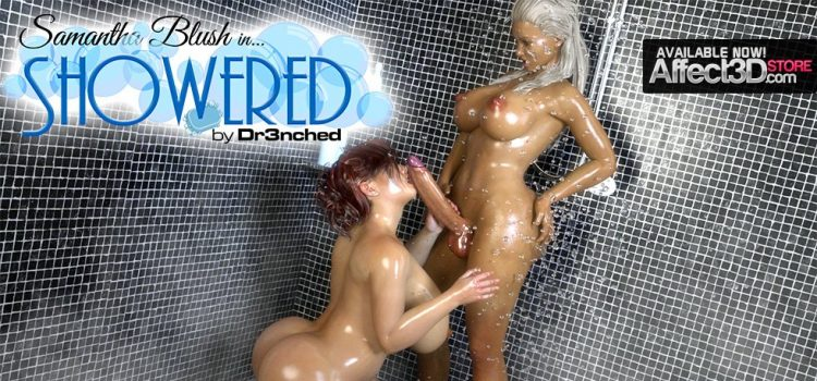 Dr3nchd – Samantha Blush in Showered
