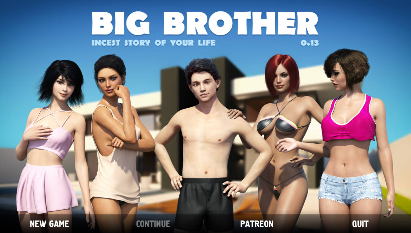 Big Brother - Version 0.13.0.007 + Mod (Cheats) + Shopping Adventure 0.6.1 + Lisa's Photo Session Version 0.22 + Untold Stories Version 0.09