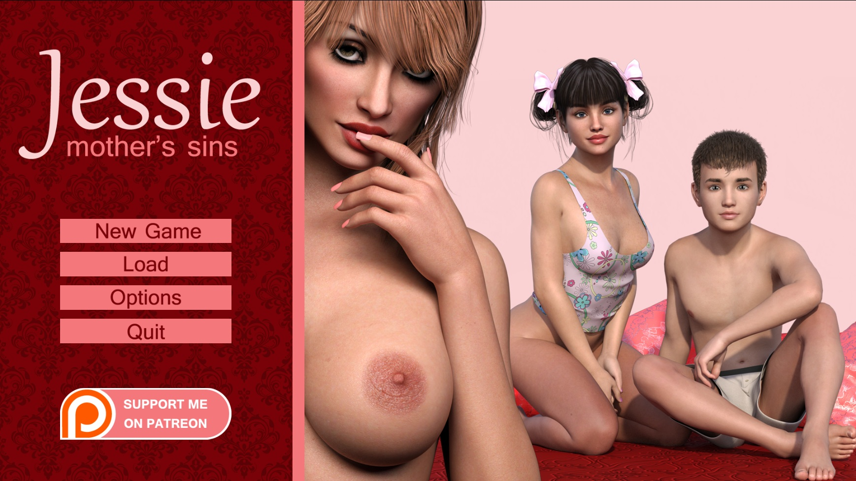 Jessie: Mother's Sins – Version 0.05 Extended (Pc, Mac)