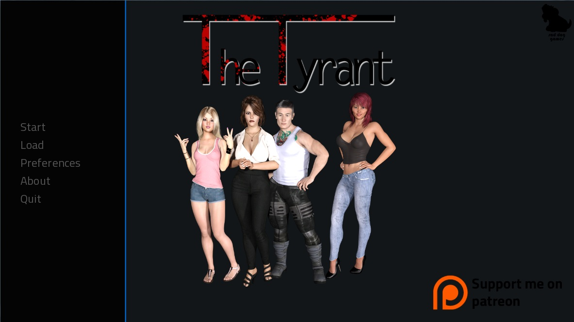 The Tyrant – Version 0.8.2 + Incest Patch + Walkthrough