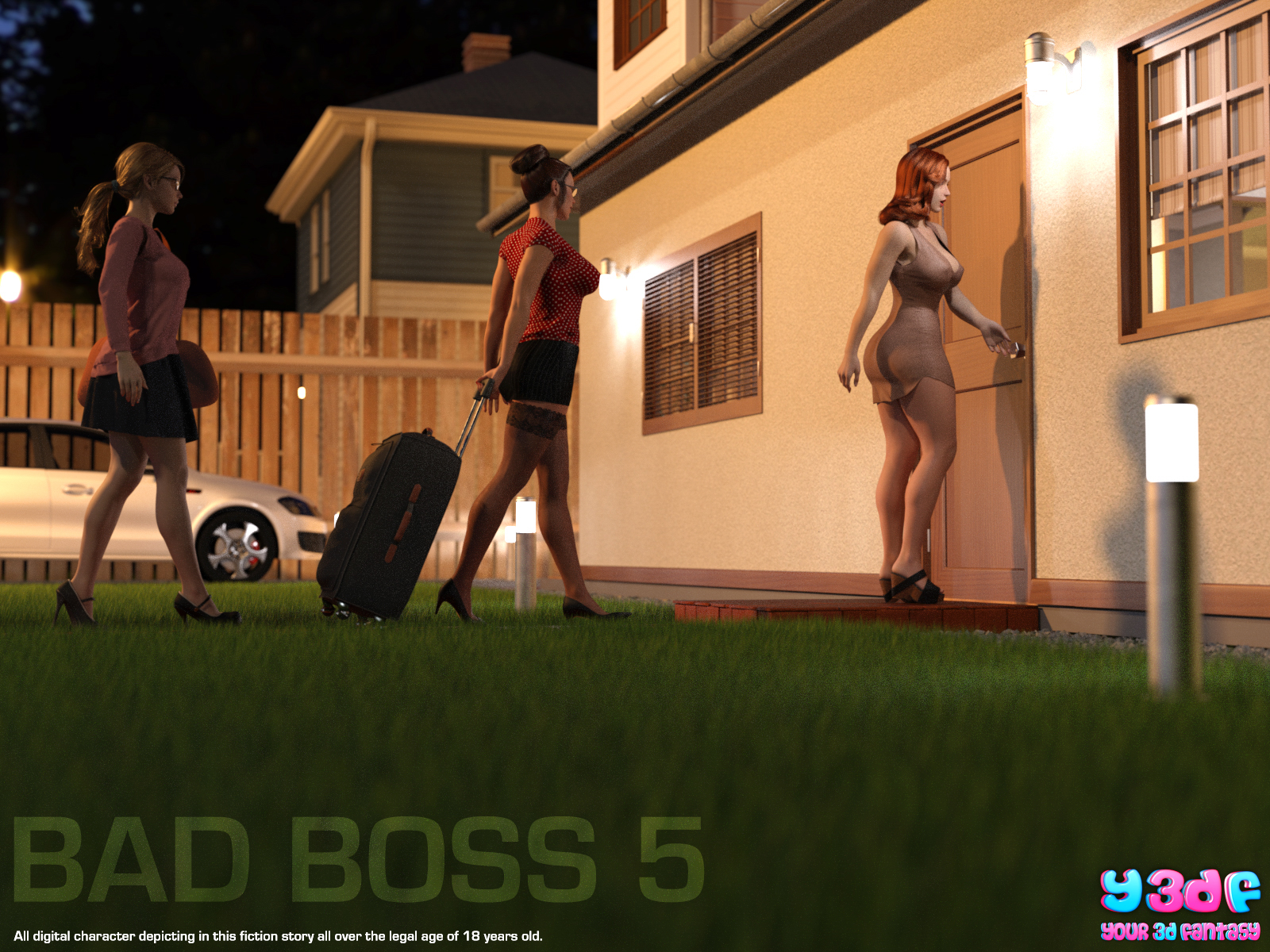 Y3DF – Bad Boss 5 – (71 Pages)