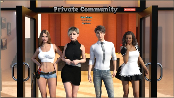 Private Community – Version 0.0.86 (Pc, Mac)
