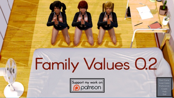 Family Values –  Version 0.2  + Incest Patch