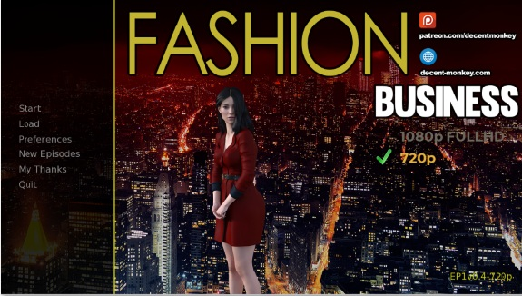 Fashion Business: Monica's Adventures – Episode 1 – Version 0.5