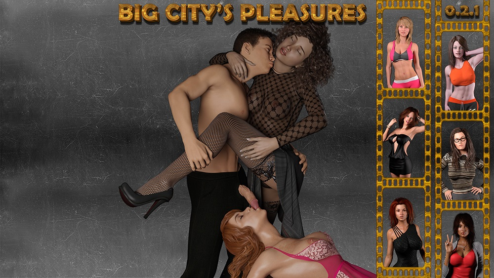 Big City's Pleasures - Version 0.2.4 + Incest Patch + Save