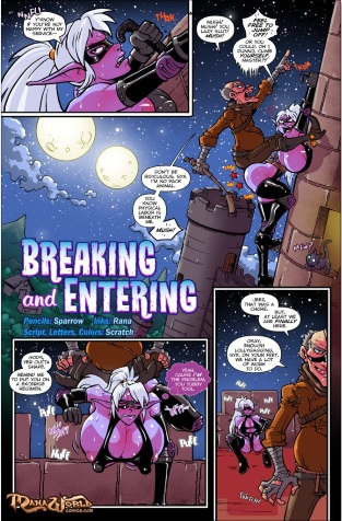Breaking and Entering 13 pages (3 New)