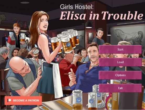 Girls Hostel: Elisa in Trouble – Version 1.0.0a