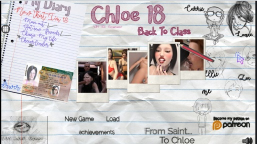 Chloe18 - Back to Class - Version 0.14 by GDS