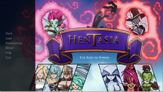 Hentasia - The Rod of Power - Version 1.1