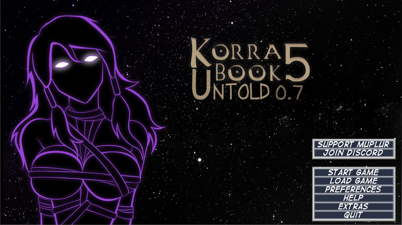 Book 5: Untold Legend of Korra – Version 0.7