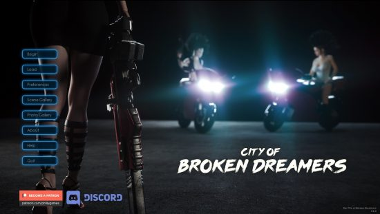 City of Broken Dreamers - Version 0.6