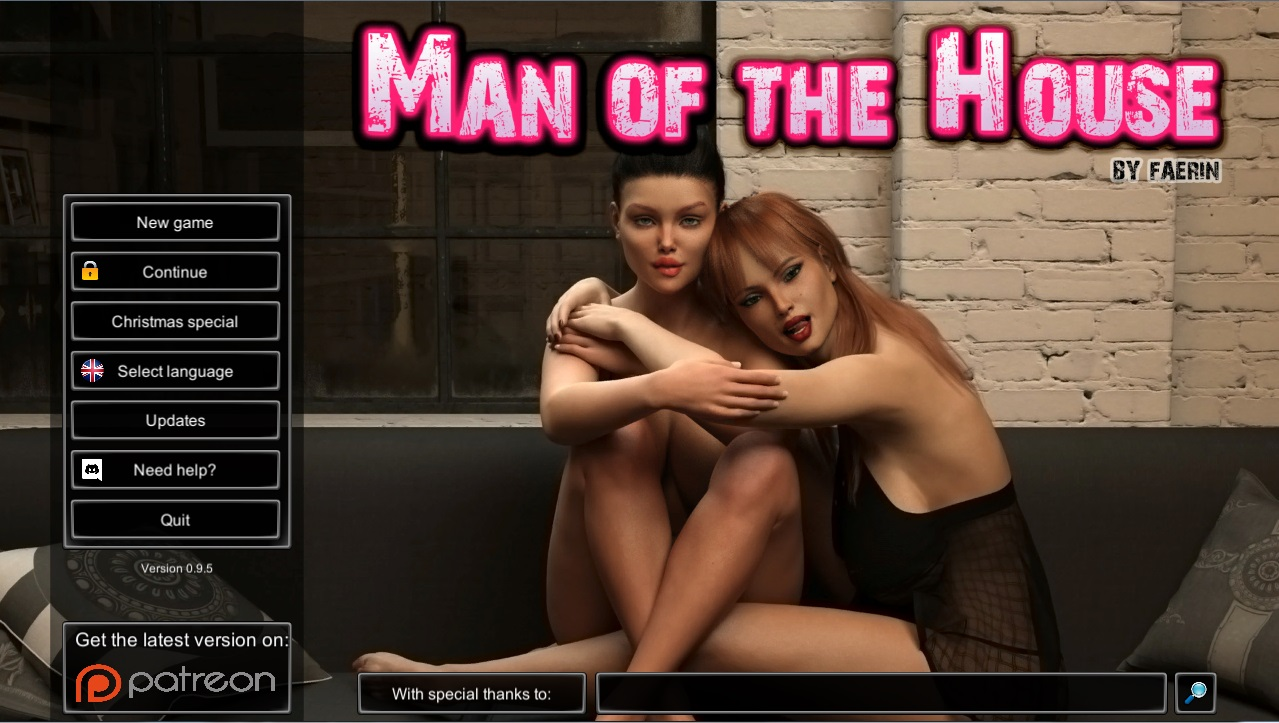 Man of the House - Version 1.0.2c Extra Final + Walkthrough + Saves