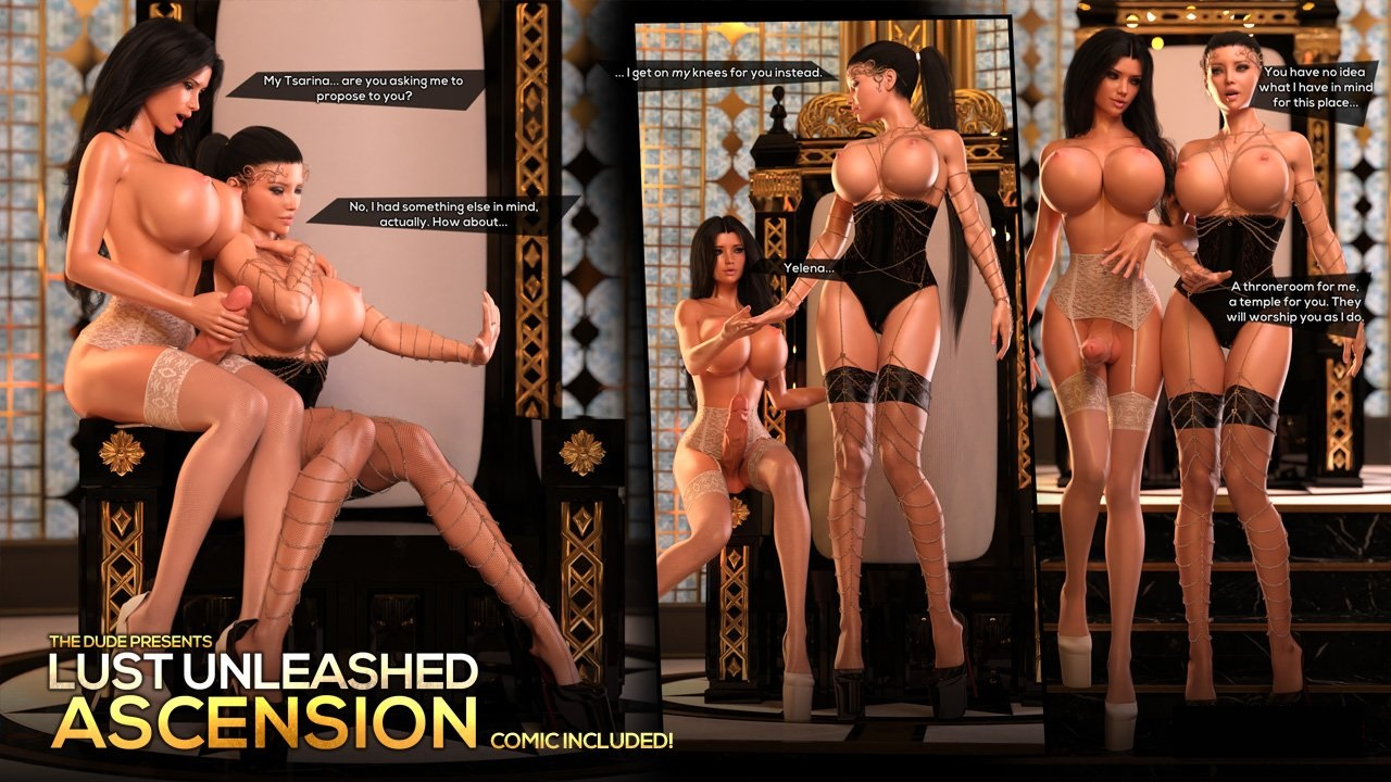 TheDude3DX – Lust Unleashed – Ascension Part 1-2