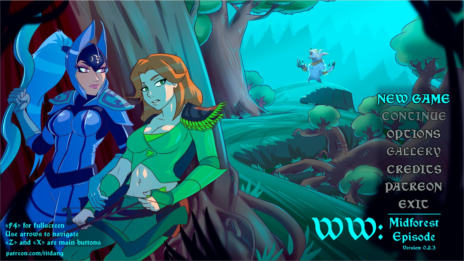 WW - Midforest – Version 0.2.3