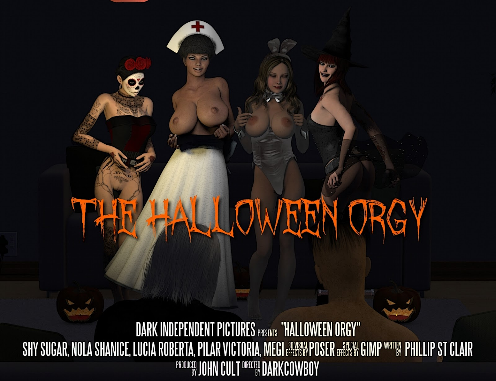 DarkCowBoy – The Halloween Orgy