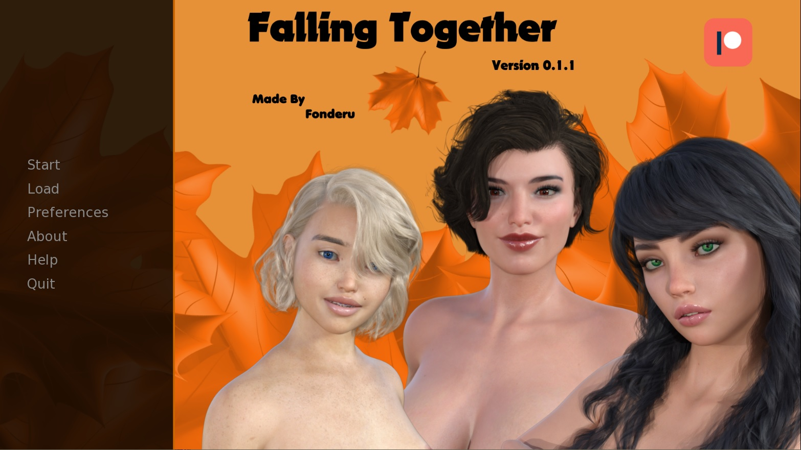 Falling Together - Version 0.1.1 + Incest Patch