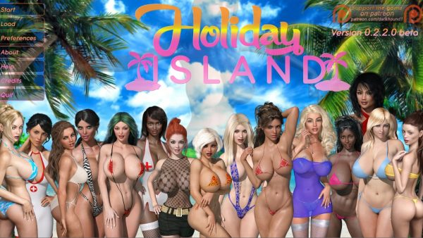 Holiday Island - Version 0.2.2.0 Beta  (Pc, Mac) + Walkthrough